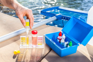 pool chemical maintenance balanced chemicals